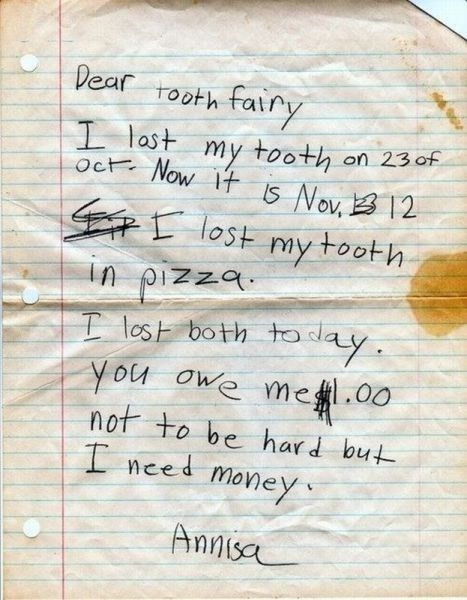 tooth fairy,childrens-writing