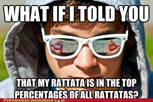 rattata meme what if i told you the matrix - 6687379200