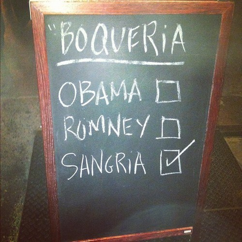 vote for alcohol,obama,Romney,sangria
