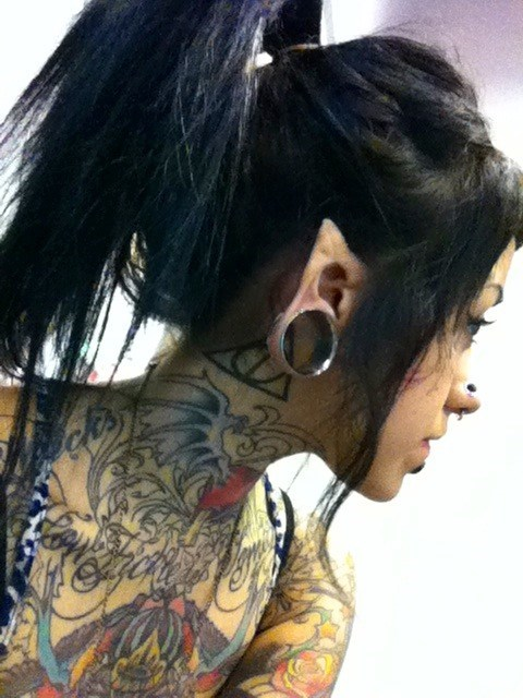 gauges,tattoos everywhere