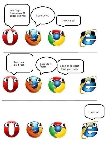 browsers internet explorer derp firefox opera chrome