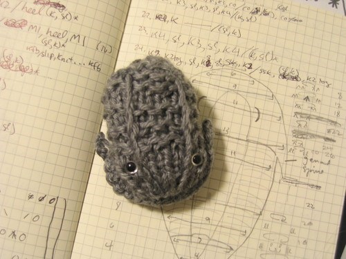 cute,trilobite,yarn,Crocheted