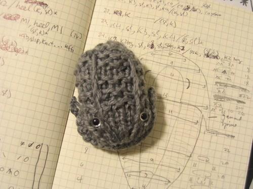 cute trilobite yarn Crocheted - 6687734272