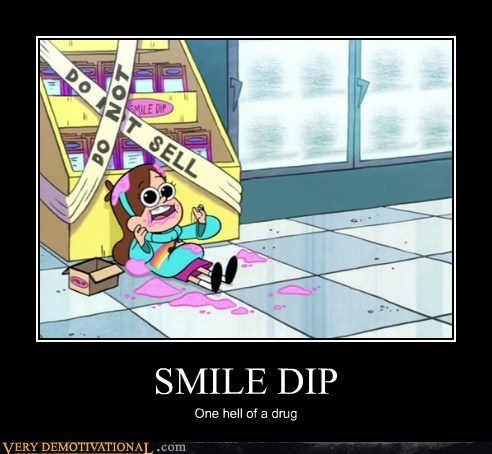 drug stuff smile dip wtf