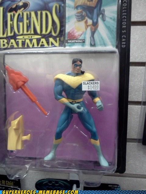 nightwing hand gesture batman toys - 6688776448