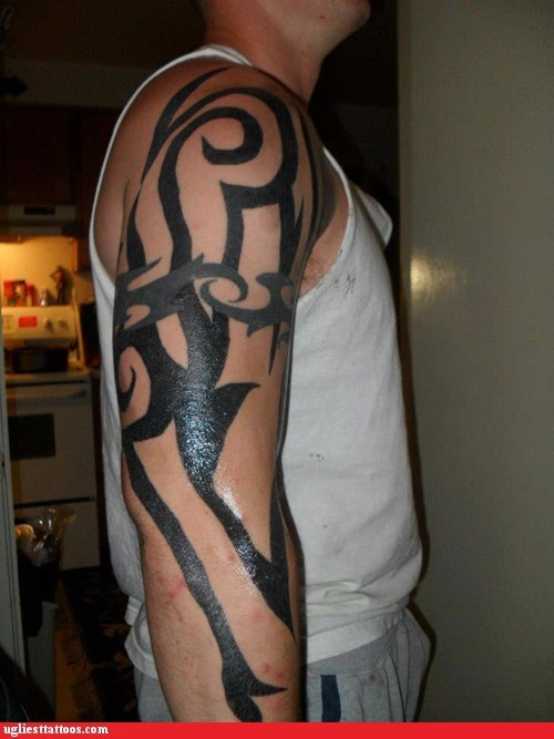 arm tattoos tribal tattoos - 6688997376