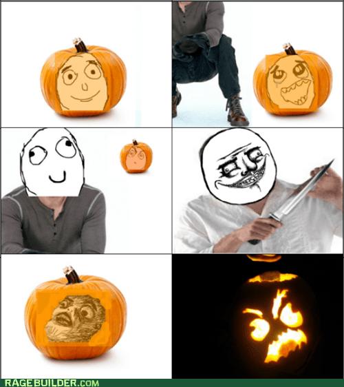 pumpkins halloween creepy gusta jack o lanterns - 6689494784