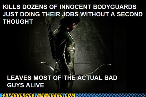 scumbag green arrow bad guys - 6689688320