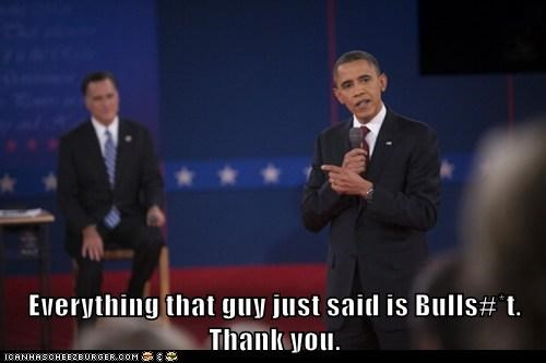 Mitt Romney barack obama bullsht thank you my cousin vinny debate - 6690173440