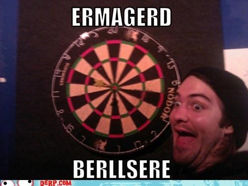 Ermahgerd bullseye darts Target - 6690492416