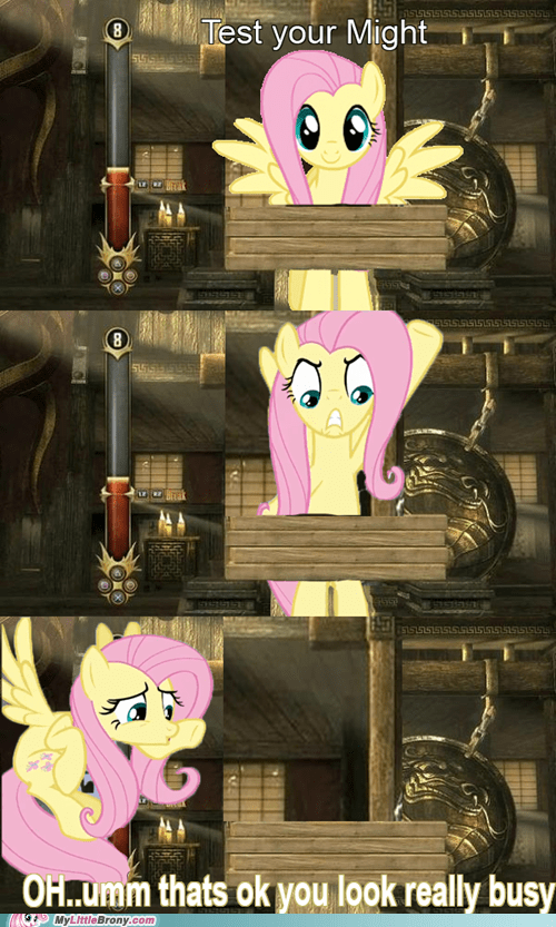 fluttershy Mortal Kombat test your might - 6691493120