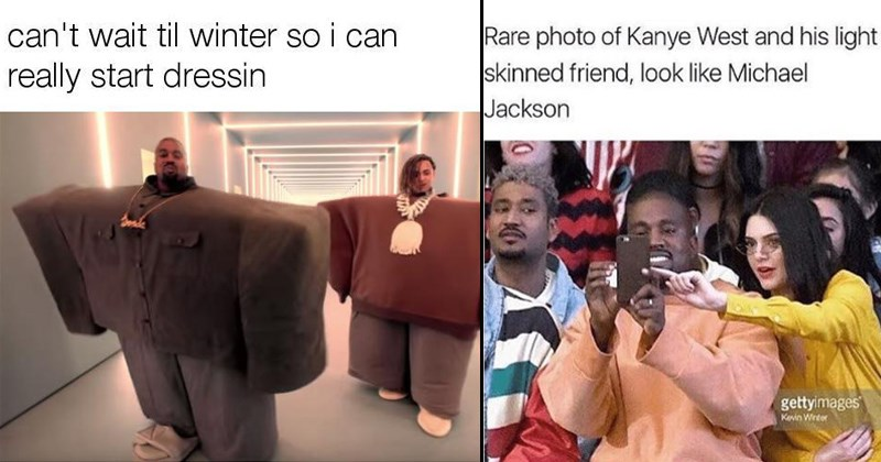 kanye west and kardashian memes
