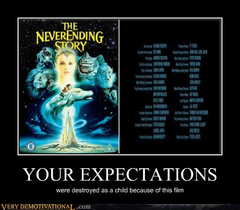 neverending story,childhood,wrong