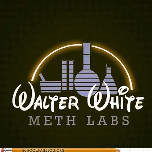 breaking bad disney meth labs walter white