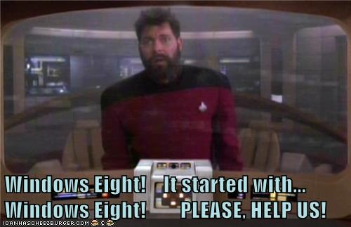 Jonathan Frakes,please,help,the next generation,Star Trek,Windows 8