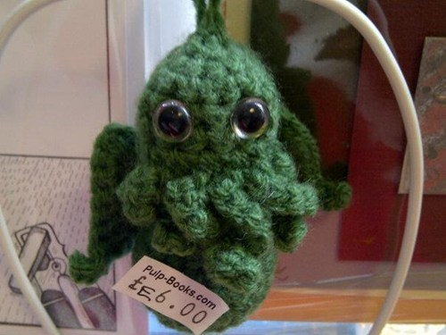 cute,for sale,crafts,knit,cthulhu