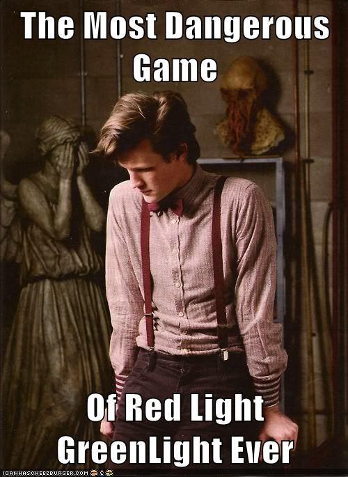 weeping angel red light green light the doctor Matt Smith doctor who dangerous - 6692748800