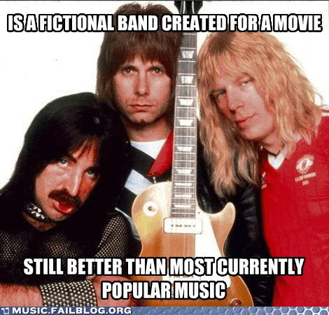 spinal tap,fictional bands