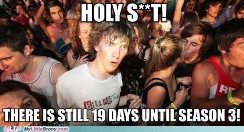 countdown meme sudden clarity clarence season 3 - 6693483264