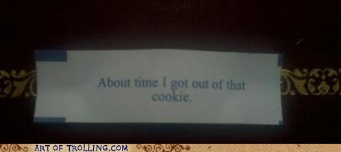 IRL fortune cookie wtf - 6693562112