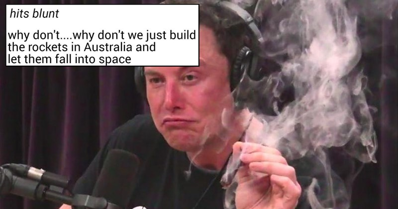 cringey marijuana cringe stoners elon musk elon musk smoking weed trending weed getting high stoned joe rogan smoking a blunt blunt the joe rogan experience tesla photoshop - 6693637