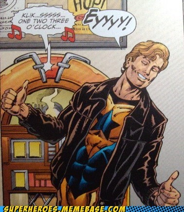 booster gold Fonzie Happy Days off the page - 6694105600