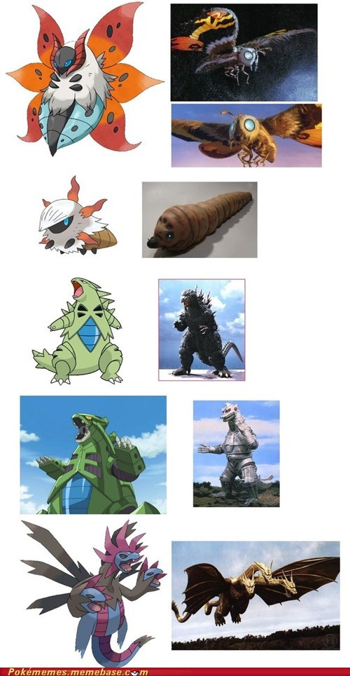 Pokémon,godzilla,copycat blah blah