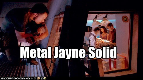 stealth,nathan fillion,metal gear solid,sneaking,jayne cobb,Firefly,watching,adam baldwin,captain malcolm reynolds
