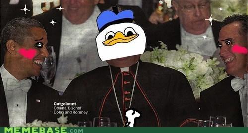 dolan obama Romney desu kawaii cardinal - 6694619392