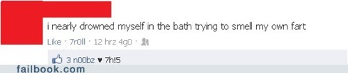 bath,drowning,farts,failbook