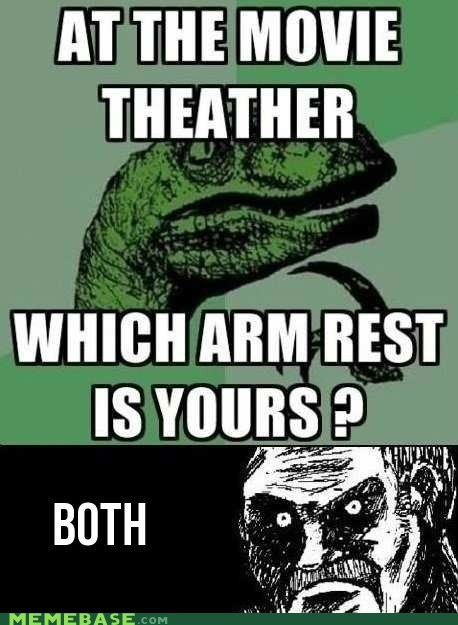 armrest chair theater philosoraptor both - 6694802176
