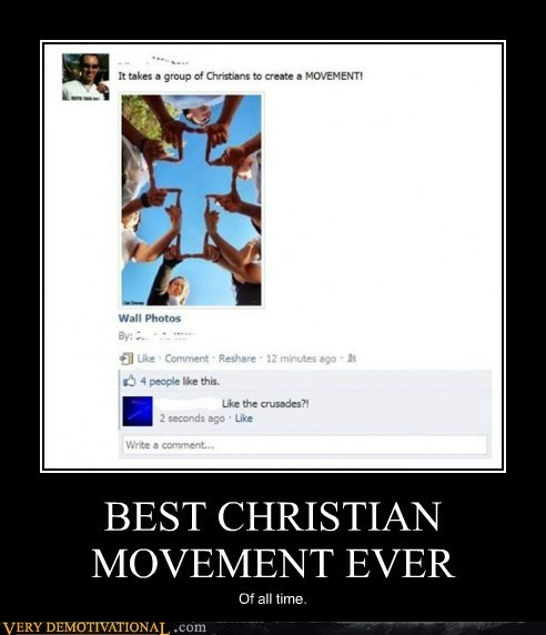 crusades christian movement bad idea