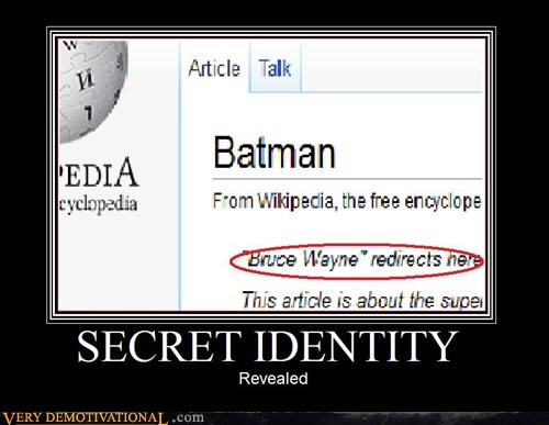 secret identity revealed batman