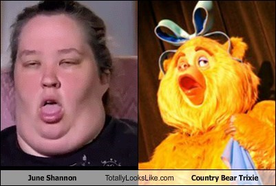 funny TLL mama june TV reality tv here comes honey boo boo country bear trixie