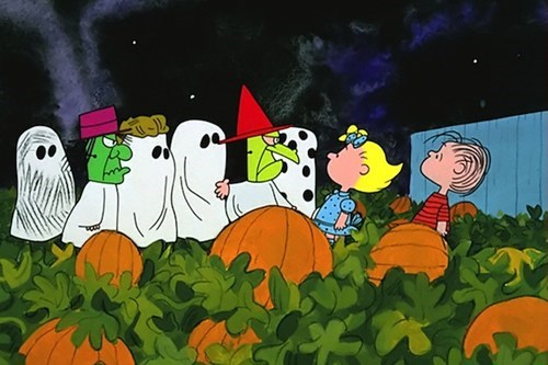 the fw TV halloween animation charlie brown - 6695336960