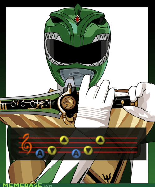 morphin time crossover power rangers zelda ocarina of time - 6695599360