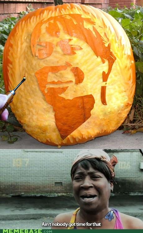 pumpkins carving halloween aint-nobody - 6695803648