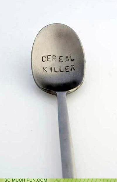 spoon serial killer literalism homophone double meaning killer cereal - 6695877632