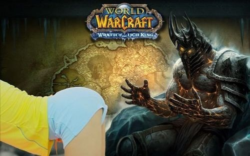 warfract lich king hey sexy ladies gangnam style