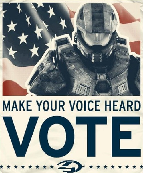Halo 4,election,vote