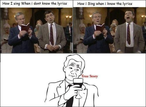 Rage Comics,lyrics,singing