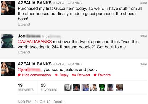 azealia banks,plebeian