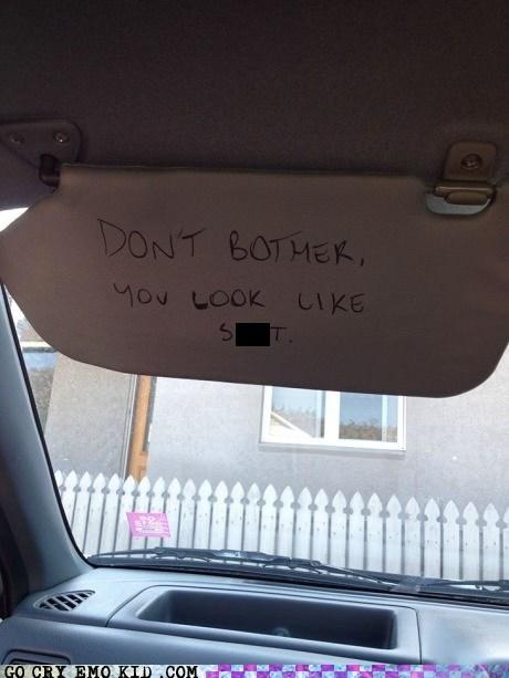 car mirror ugly - 6696037632