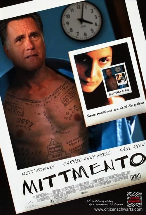 Mitt Romney memento Romnesia forget memory - 6696168192