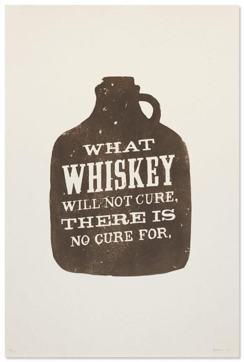 amen,whiskey,no cure for