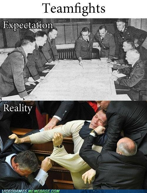 fights,team,expectation vs. reality,gamers,expectation vs reality