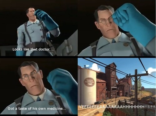 Team Fortress 2,csi,comic,medic