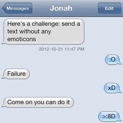 you-cant-make-me iPhones emoticons - 6696398592