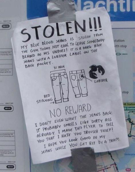 stolen pants