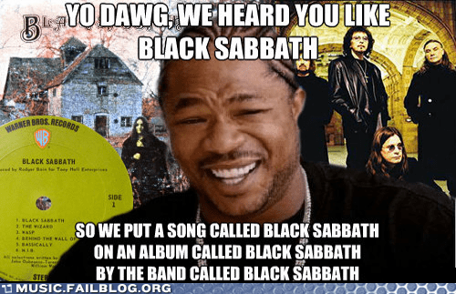 black sabbath,Xzibit